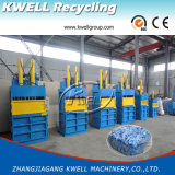 Pappballenpresse/hydraulische vertikale halbautomatische Ballenpreßmaschine