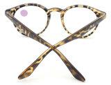 R17589 Atacado baratos lentes de leitura de plástico Óculos de leitura de quadro colorido