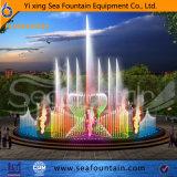 Decorativo ligero interactivo de la fuente LED de la música de la construcción urbana