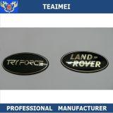 Etiqueta plástica do emblema do carro do emblema do logotipo do cromo feito sob encomenda das peças de automóvel