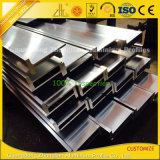 Protuberancia de aluminio sacada del perfil del marco de la ranura de T para el aluminio de la ranura de T