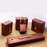 Boucles d'oreille de papier de velours/tissus/cadre de bijou de empaquetage de cadeau cadre de boucle/bracelet