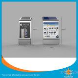 estación de carga solar del teléfono móvil 250W con la cartelera del anuncio