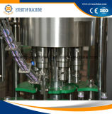기계 또는 생산 라인3 에서 1 채우는 유리병 포도주