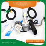 H1 H3 H4 H7 H11 9006 9007 최고 밝은 LED 헤드라이트 전구 C6 12V LED 차 헤드라이트
