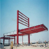 Gruppo di lavoro d'acciaio della stazione di servizio della costruzione di riduzione dei costi da vendere