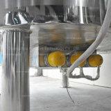 Polvo de jabón que se lava que hace la máquina con la mezcla y la calefacción