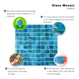 De turkooise Tegel van het Glas Backsplash van de Badkamers Groene