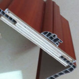 Houten die Deur van pvc van het Glas van de Deur van pvc de Binnenlandse voor Slaapkamer wordt gebruikt