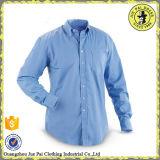Ultime mini camice lunghe del manicotto delle camice di vestito casuale dal Mens di disegno del collare del randello