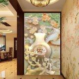 Выбитая картина цветения сливы напечатанная цифров китайская для украшения вестибюля