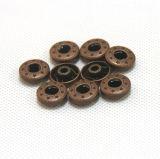 Tecla de bronze para calças de brim
