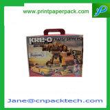 Коробка подарка изготовленный на заказ причудливый игрушки упаковывая бумажная