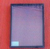 실크 스크린에 의하여 인쇄되는 색깔 패턴을%s 가진 격리된 유리