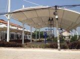 Estrutura bonita da membrana para o parque de estacionamento & o quadrado comercial