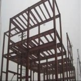 Plataforma estrutural de aço pré-fabricada industrial