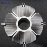 Heatsink, CNC подвергая механической обработке, чернит после того как он анодирован,