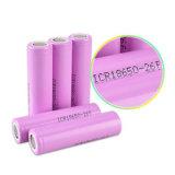 Пурпур батареи иона лития Ubetter перезаряжаемые 18650 3.7V 3500mAh
