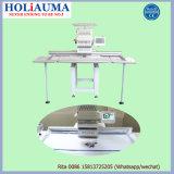 Holiauma a informatisé la machine plate principale simple de broderie avec la broderie plate de T-shirt de chapeau 3 fonctions principales
