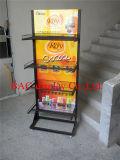 Crémaillère d'étalage de vente chaude de produit de shampooing de stand de qualité