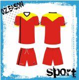 中国は昇華サッカーチームのジャージーのユニフォームキットをカスタマイズした