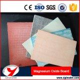 Tarjeta del MGO, tarjeta del óxido de magnesio, tarjeta incombustible, material de construcción incombustible de la tarjeta de la pared