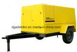 Компрессор воздуха высокого давления тепловозный портативный с колесами (PUD07-07)