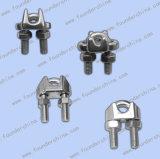 Clips de câble métallique d'acier inoxydable