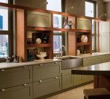 Het Meubilair van het huis 15 Jaar van de Ervaring Keukenkast van de Exporteur van het Project van Amerika, Canada de Stevige Houten