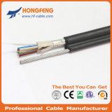 Câble fibre optique supplémentaire aérien de faisceau du faisceau 24 du faisceau 12 du faisceau 8 de Gyxtc8s 6