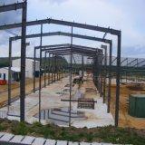 Vor aufgebauter Stahlkonstruktion-Lager-Stahl für Verkauf