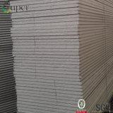 Scheda grigia del pannello a sandwich dell'isolamento termico ENV/polistirene espanso per la parete