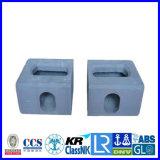 Gietende Montage van de Hoek van de Container van de precisie de Gietende, de Vervangstukken van het Afgietsel van de Matrijs van het Aluminium