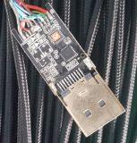 Het hoge Type a van Kabel van de Oplossing HDMI aan de Kabel van het Type C