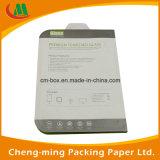 Teléfono móvil de la pantalla de cristal templado Protector Paquete Caja de papel