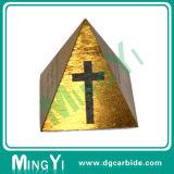 Изготовленный на заказ форма пирамидки блока сплава части прессформы высокого качества