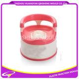 Molde plástico do toalete de Babay