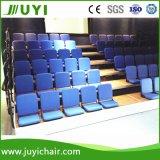 Tribune télescopique de système de montage de salle de gradins au soleil de tribune molle de théâtre d'usine de Jy-768f