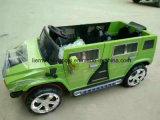 Hummer 4 열린 문은 아이를 위한 전차를 운전한다