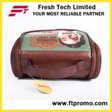 ترويجيّ [بفك] جلد مستحضر تجميل حقيبة مع علامة تجاريّة
