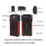 Bewegliche Aufladeeinheit Ravpower 10000mAh Energien-Bank-externer Batterie-Satz der Ausgabe-3-Port (Input 2.4A, mit LCD-Bildschirm, mit hoher Schreibdichtec$li-polymer-plastik Batterie