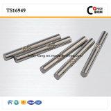 Вал нержавеющей стали CNC подвергая механической обработке малый для електричюеского инструмента