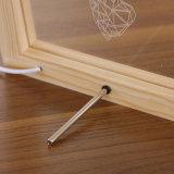 オオシカLEDのギフトのための木製フレームの創造的な3D卓上スタンド