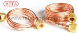 高品質のナットが付いている銅の毛管管