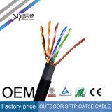 Cavo di lan impermeabile esterno di Sipu UTP/FTP/SFTP Cat5/Cat5e