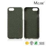 Nuova cassa della fibra di Aramid di arrivo di Mcase 2016 per il coperchio di caso di iPhone 7 con superficie opaca