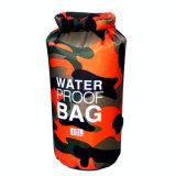 Пакет океана сухого мешка изготовленный на заказ брезента PVC пакета океана логоса водоустойчивого напольного водоустойчивый