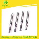 2 бита Endmill карбида каннелюры/резец CNC длиннего хвостовика инструментов карбида вольфрама филируя плоского