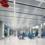 Type décoratif plafond décoratif en aluminium de garniture intérieure de Construnction de bande de bois de construction