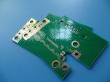 Tarjeta de circuitos del PWB del oro RO4350b de la inmersión en radio de VHF